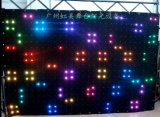 P18cm RGB Full Color Vision Curtain 2 * 3m LED Video Cortina Stage Light Stage Equipamento Cortina Display LED