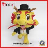 Mascote corporativo personalizado Dragão Suave Homem Peluche