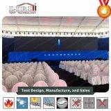 tente claire en aluminium d'envergure de largeur de 3m-60m dinant la tente de restauration à vendre