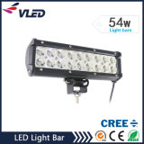 LED Auto Light Bar 54W 18PCS * 3W High Intensity CREE LEDs