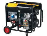 Générateur de soudage diesel portable Open Type 5kw pour usage domestique avec approbation Ce / CIQ / ISO / Soncap