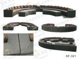Insiemi esterni del sofà, mobilia del rattan del patio, insiemi del sofà del giardino (SF-321)