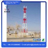 Гальванизированный 4 ножками угол стальной Телекоммуникационная башня