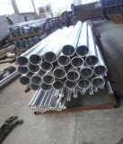 6061/6063 T5 anodisiertes Aluminiumgefäß/Rohre