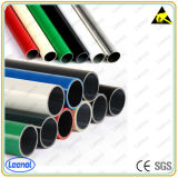 Joint Round Coated Tube를 가진 관 Rack System Lean Pipe