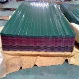 De acero prebarnizado hoja de techos de tejas