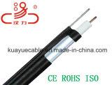 Cable coaxial 75 Ohm Rg11 / Cable de computadora / Cable de datos / Cable de comunicación / Conector / Cable de audio