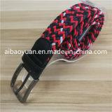 薄いウェビングの強い伸縮性がある正方形のバックルベルト