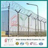 Загородка колючей проволоки бритвы высокия уровня безопасности Concertina для загородки авиапорта