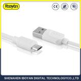 Dati personalizzati di marchio che caricano il micro cavo del USB per il telefono mobile