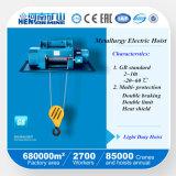 Alzamientos eléctricos de alambre de la metalurgia china de la cuerda