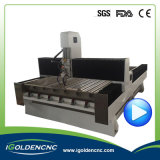 4X8 macchina di CNC del granito dell'asse di rotazione dei piedi 5.5kw