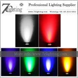 Rádio do contexto acima de luz a pilhas da PARIDADE do diodo emissor de luz da iluminação para a mostra do evento do casamento