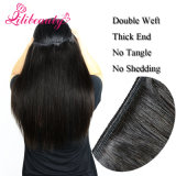 100%の加工されていない人間のバージンのペルーの毛のカンボジアの毛のブラジル人の毛