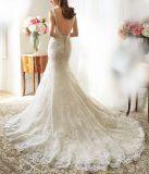 مطبّقة [نكلين] شريط [ودّينغ غون] [فستيدوس] [مرميد] زفافيّ عرس ثوب ([ل15351])