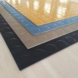 Feuille de caoutchouc d'insertion de tissu, Revêtement de sol de gymnastique, Ensemble de caoutchouc d'hôtel