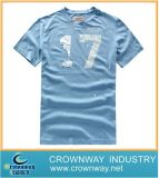 Рубашка тройника печатание хлопка изготовленный на заказ людей расчесываемая способом