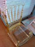 宴会のための樹脂のナポレオンの固体金椅子
