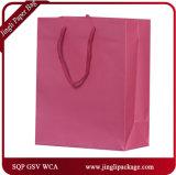 Sacchetti riciclati del regalo dell'elemento portante dei sacchetti del regalo dei Euro-Clienti della scanalatura del Kraft con la maniglia Twisted o la maniglia piana
