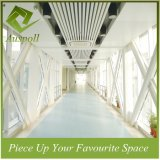 25W*80h空港のためのアルミニウム装飾的な偽のプロフィールのバッフルの天井のタイル