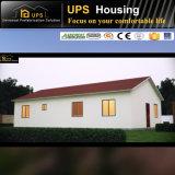 Chambres préfabriquées de coût bas à trois chambres résidentiel permanent en acier