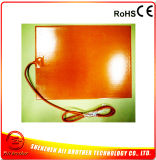 300*400*1.5mm 220V 300W 3D RubberVerwarmer van het Silicone van de Verwarmer van de Printer
