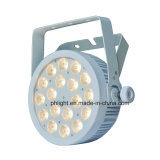 Luz branca fresca morna da PARIDADE do diodo emissor de luz da carcaça DMX512 branca para o estúdio. Estágio. Câmera, vídeo