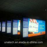 Polo Mega Gasolinera al aire libre de Publicidad Banner Sinopec vallas PVC Caja de luz LED