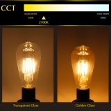Lâmpada E27 do diodo emissor de luz da ESPIGA do bulbo St64 do filamento do diodo emissor de luz Edison do vintage