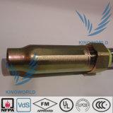 UL flessibile FM dell'acciaio inossidabile del tubo flessibile dello spruzzatore di lunghezze nominali dell'Assemblea