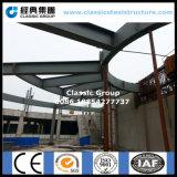 Structure métallique de toit préfabriqué de station