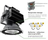 Programa piloto al aire libre de Meanwell del precio bajo del reflector 200W del LED 5 años de la garantía IP65 LED de luz de inundación