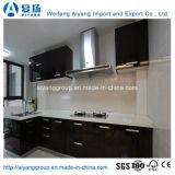 Armário de cozinha de alta qualidade brilhante com desenhos modernos