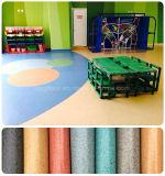 中国の方法防水および環境の友好的な固体PVC床