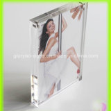 Custom Handmade著磁気Acrylic Photo Frame