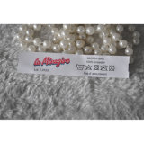 Red Non Woven Fabrics Offset Printed Label Garment Accessories