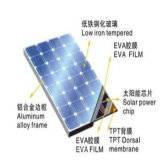 3.2mm, 4mm moderou o baixo vidro revestido AR do ferro para o painel Photovoltaic