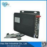 tarjeta Mdvr DVR móvil de 4-CH HD SD para el sistema del CCTV del vehículo
