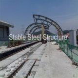 Stazione ferroviaria della struttura d'acciaio con Nizza qualità