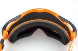 Óculos de proteção compatíveis dos capacetes adultos da motocicleta do disconto da prova da poeira