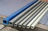 GRPおよびFRPのガラス繊維のPultrudedのプロフィールの円形および正方形の管、管、棒