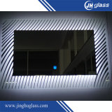Espejo puesto a contraluz LED de la plata del espejo con dimensión de una variable del rectángulo