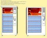 Distributore automatico astuto, schermo di tocco di 32 pollici, offerta unica del pacchetto del campione libero, per il profumo di vendita, vino, sciampo, stato dei capelli, olio dell'assistente tecnico, estetica,