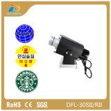 Firmenzeichen-Projektor-Lampe des einzelnen Bild-statische LED