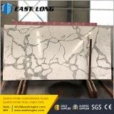Линия слябы скреста упорная мраморный камня кварца для проектированного материала /Buildidng
