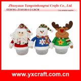 Rifornimento del regalo del capretto di natale felice di Buon Natale della decorazione di natale (ZY11S115-1-2-3)