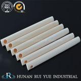 Tube en céramique fermé 99 d'alumine de l'extrémité C799 de la grande pureté Al2O3 99.7% d'usine un