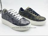 Славные ботинки способа женщин PU для спортов (ET-MTY160330W)