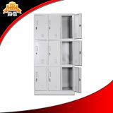 Cacifo moderno chinês da escola do metal de 9 portas com melhor qualidade