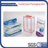 Caja de embalaje del conjunto individual colorido del PVC